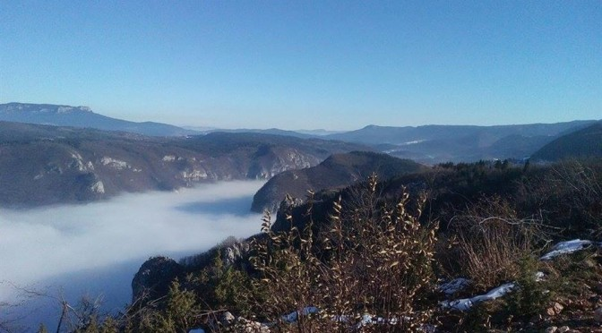 Pala magla do pola Sarajeva